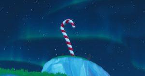 Visitez Giant Candy Canes - 14 jours de Fortnite