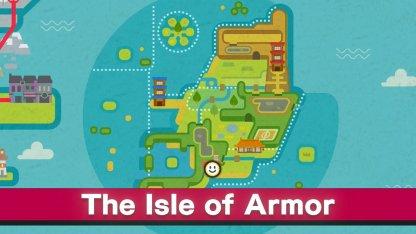 Aller à l'île d'Armure ~ 3 essais