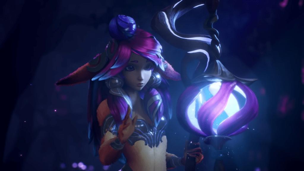 League of Legends présente Lillia comme sa nouvelle championne et de nouveaux skins prestigieux
