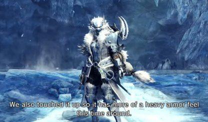 MHW: ICEBORNE | Frostfang Barioth – Armes et armures – JeuxPourTous