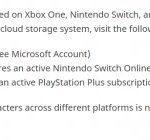Cloud Save disponible uniquement pour les consoles