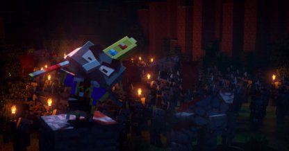 Minecraft Dungeons | Plateau Panda – Niveau secret et gouttes uniques