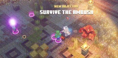 Minecraft Dungeons | Temple envahi – Niveau secret et gouttes uniques