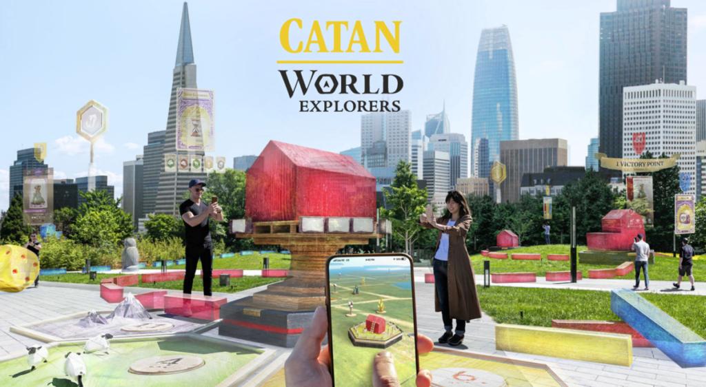 Niantic annonce des nouvelles de Catan: World Explorers