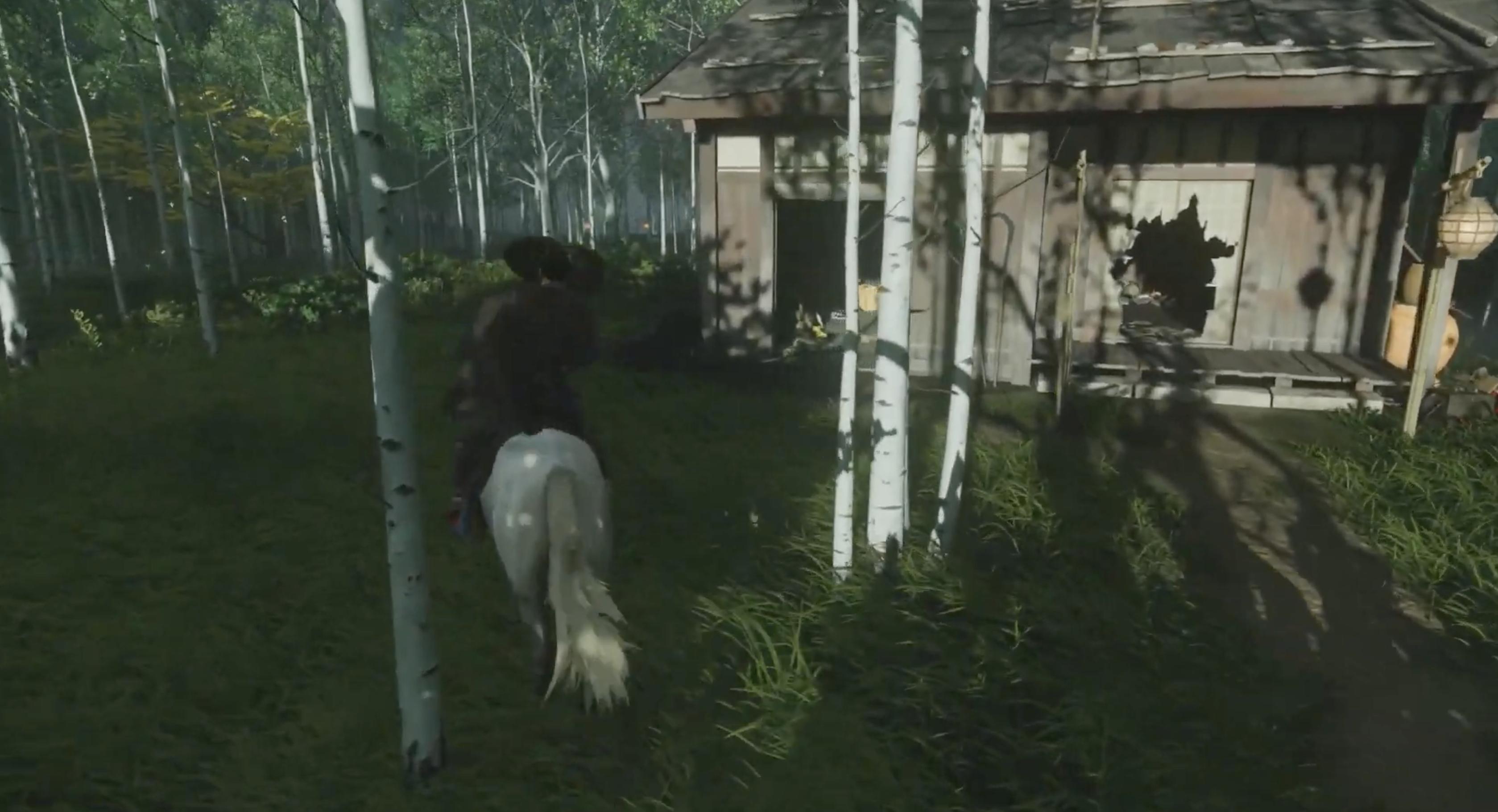 Captures d'écran du jeu Ghost of Tsushima.