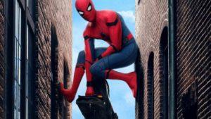 Spider-Man: Homecoming a également une affiche rétro avec des personnages originaux de bandes dessinées