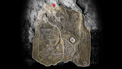 Emplacement sur la carte du bunker 11