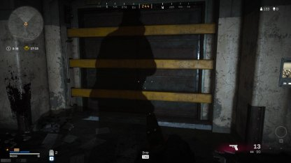Zone de guerre du bunker
