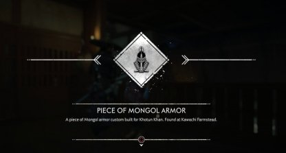 Armure mongole