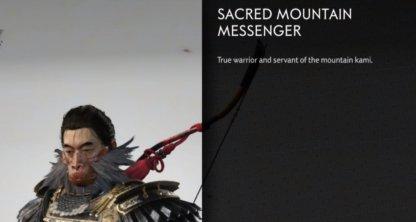 Messager de la montagne sacrée