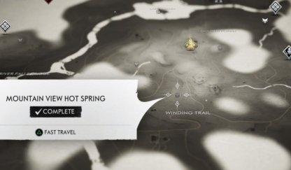 Source chaude de Mountain View