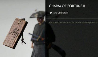 Recevoir le charme de la fortune II