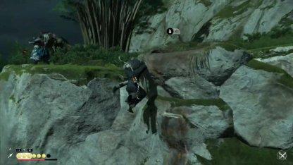 Grimper la falaise pour tuer des archers