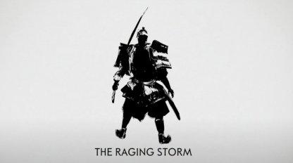 La tempête qui fait rage