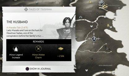 Le mari - Localisation de la quête