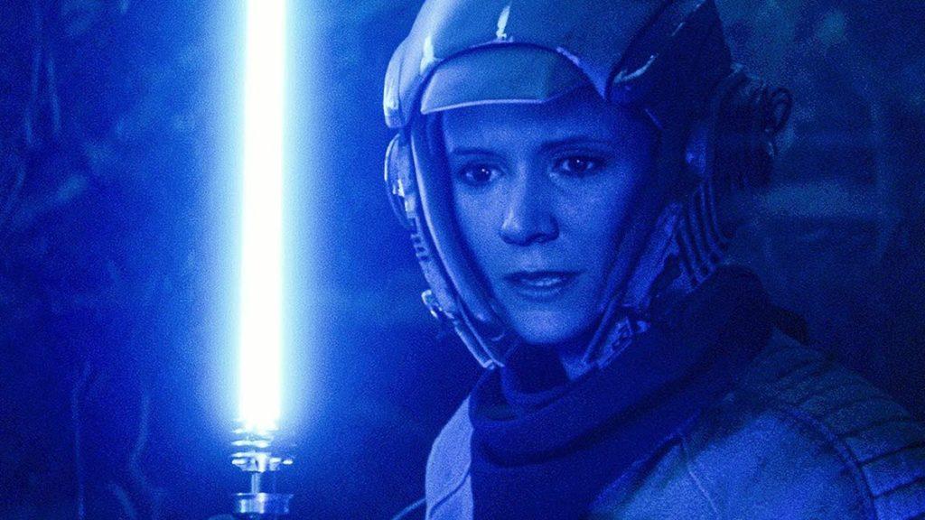 Le sabre laser de Leia montré en détail dans Star Wars: The Rise of Skywaker