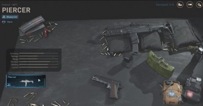 Plans d'armes