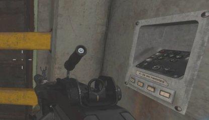 Dirigez-vous vers le bunker et interagissez avec le clavier