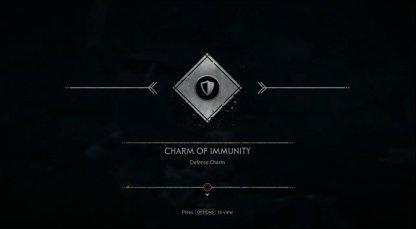 Recevez le charme de l'immunité