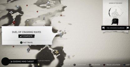 Duel de vagues déferlantes