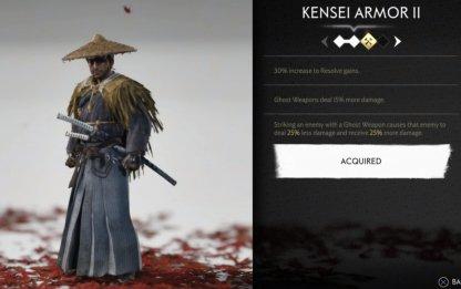 Ensemble d'armure Kensei