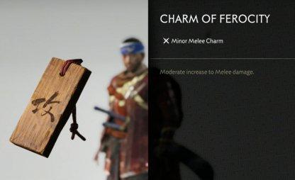 Recevoir le charme de la férocité
