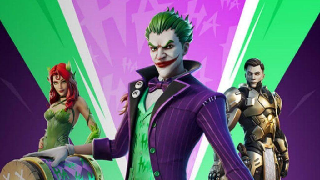 Fortnite recevra des skins de Joker, Poison Ivy et Midas Rex