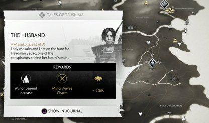 Ghost of Tsushima (GOT) Le mari – Emplacement et procédure pas à pas