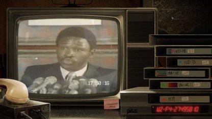 Code du bunker de la station de télévision F4