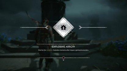 Débloquer la flèche explosive