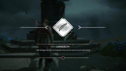 Recevoir l'arc long