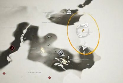 Emplacement de la carte de l'île Hiyoshi