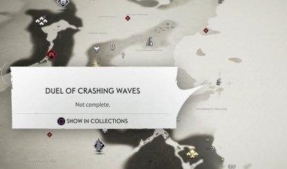 Emplacement de la carte de Duel Of Crashing Waves