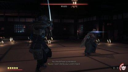 Attendez que Ryuzo bouge en premier