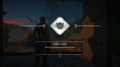 Recevoir le masque Sakai et l'armure de clan