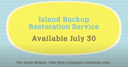Service de restauration de sauvegarde d'îlot