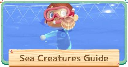 Liste des créatures marines
