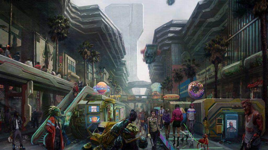 Cyberpunk 2077 offrira un DLC gratuit après son lancement