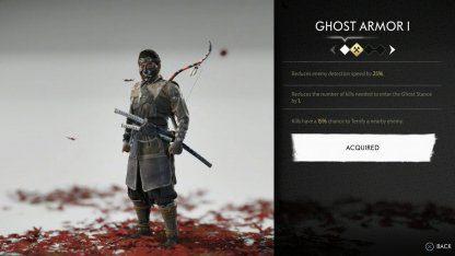 Recevez l'ensemble d'armure fantôme
