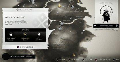Prenez la quête au nord d'Archer