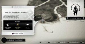 Prenez la quête au camp de survivants à l'est d'Umugi Cove