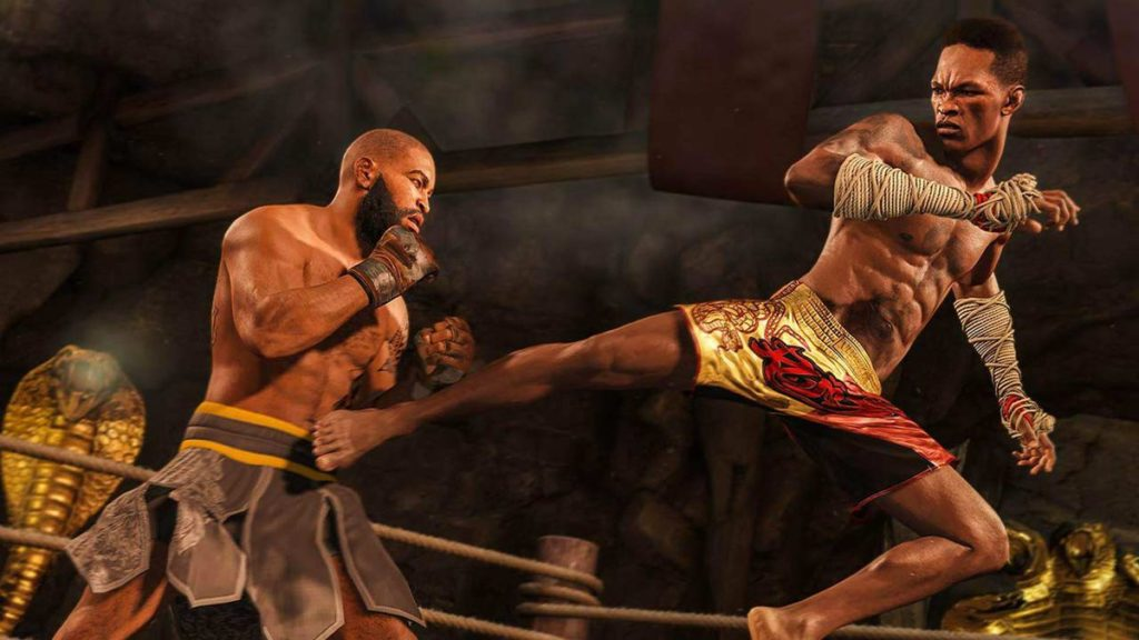 Tests de l'UFC 4 pour PS4 et Xbox One