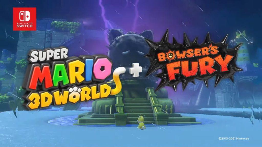 Super Mario 3D World + Bowser & # 039; s Fury annoncé sur Nintendo Switch