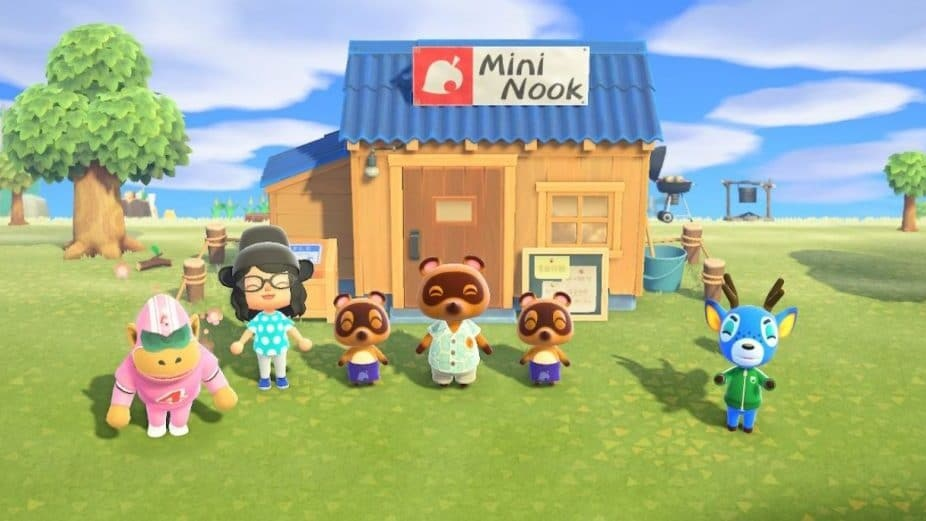 Animal Crossing: Ils transforment la tente Mini Nook en un ensemble LEGO