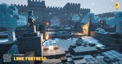 Trouvé dans la forteresse solitaire