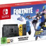 Annonce d'une édition spéciale de Nintendo Switch avec des motifs Fortnite et des produits cosmétiques exclusifs