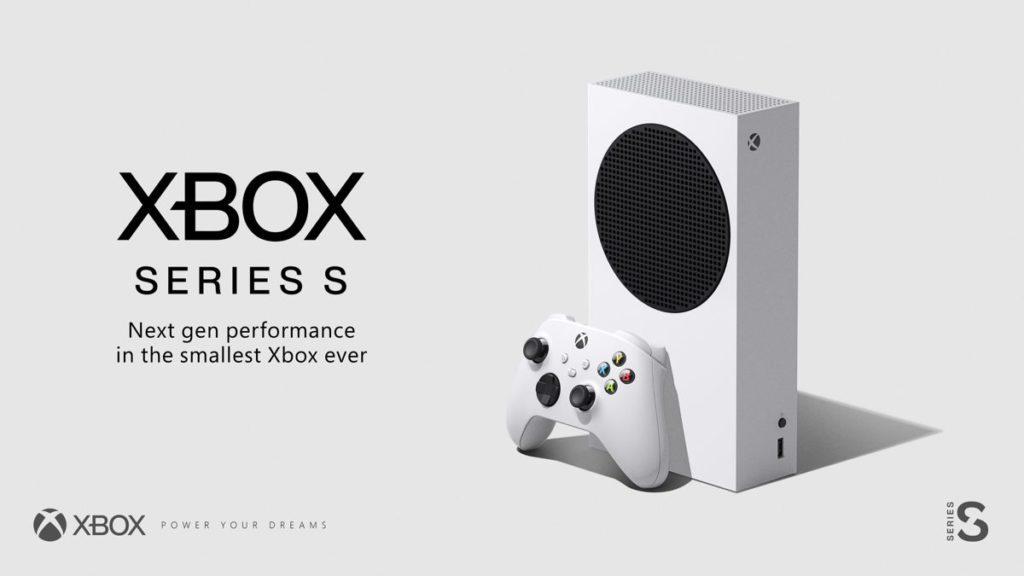 Microsoft confirme la date de sortie de la Xbox Series S