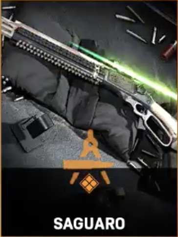 Fusil de tireur d'élite Saguard