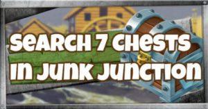 Fortnite | Junk Junction - Défi Recherche 7 coffres (semaine 5) - GameWith