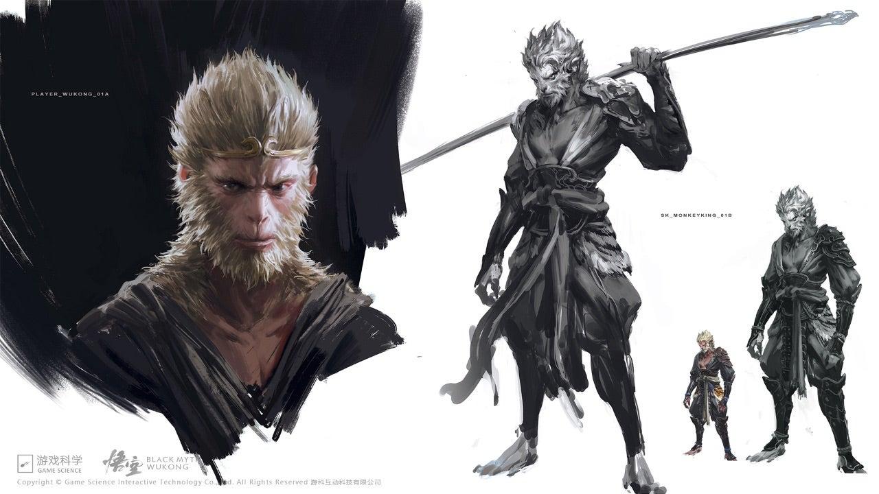 Une partie de cette histoire originale se concentre sur Sun Wukong, également connu sous le nom de Monkey King, qui semble être le personnage principal de Black Myth: Wukong.